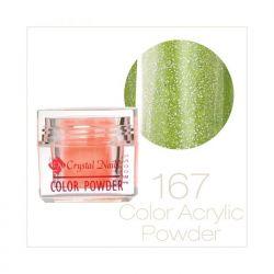 Crystal Nails - Praf acrylic colorat - 167 (7g)