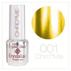Crystal Nails - Chrome CrystaLac -1 Gold (4ml)