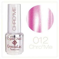 Crystal Nails - Chrome CrystaLac -12 Pink (4ml)
