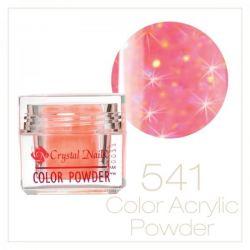 Crystal Nails - Praf acrylic colorat - 541 - Roz inchis brilliant 7g