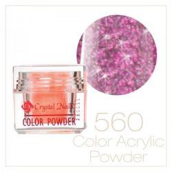 CRYSTAL NAILS - Praf acrylic colorat - 560 - 7g