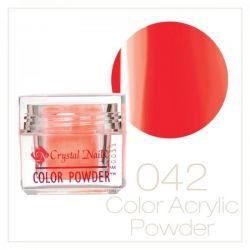 Crystal Nails - Praf acrylic colorat - 42 (7g)