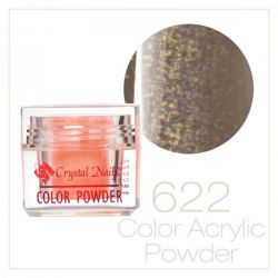 CRYSTAL NAILS - Praf acrylic colorat - 622 - 7g