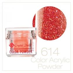 CRYSTAL NAILS - Praf acrylic colorat - 614 - 7g