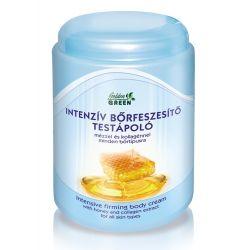 Golden Green - Crema de corp intensiva pentru fermitate - cu miere si colagen (1000ml)