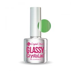 Crystal Nails - Glassy CrystaLac - Verde (4ml)