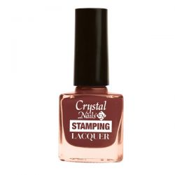 Crystal Nails - Lac pentru Stampila - Ciocolata (4ml)
