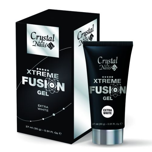 Crystal Nails - Xtreme Fusion Gel - Extra White (27ml/30g)