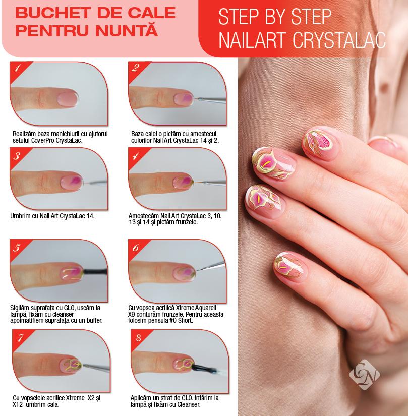 Step by Step - Buchet de cale pentru nunta