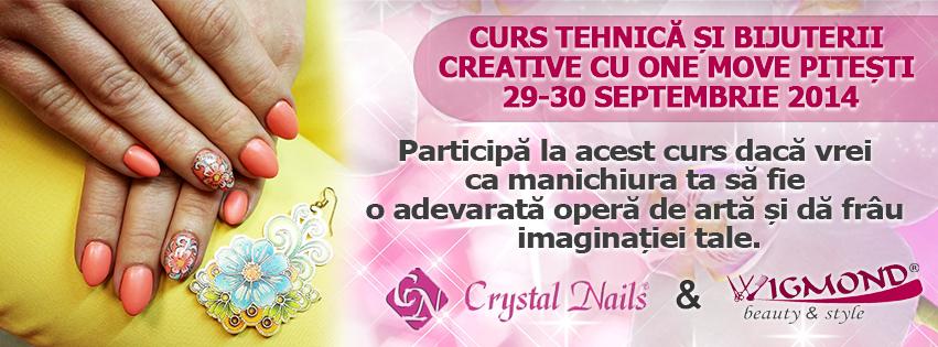 Curs Tehnica si Bijuterii creatice cu One Move Pitesti 29-30 septembrie 2014