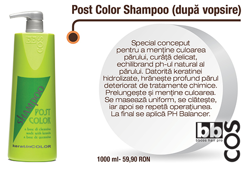 Post-color-shampoo