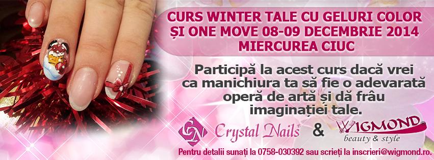 Curs Winter Tale cu Geluri Color si One move 08-09 decembrie 2014 Miercurea Ciuc