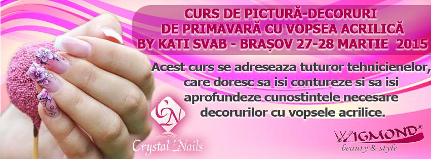 Curs de pictura-decoruri de primavara cu vopsea acrilica 27-28 martie 2015 kati