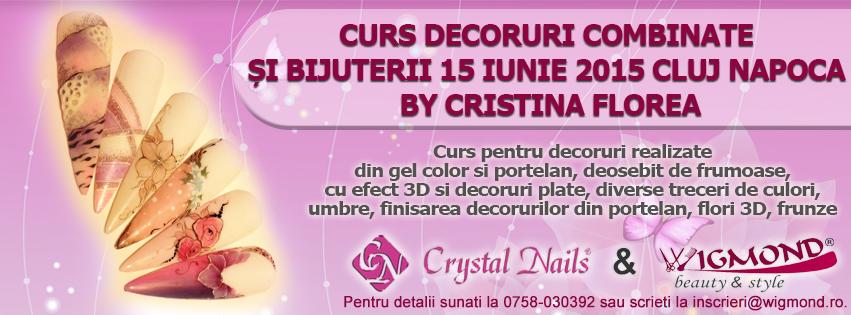 Curs Decoruri Combinate si Bijuterii Cluj Napoca 15 iunie 2015 by Cristina Florea
