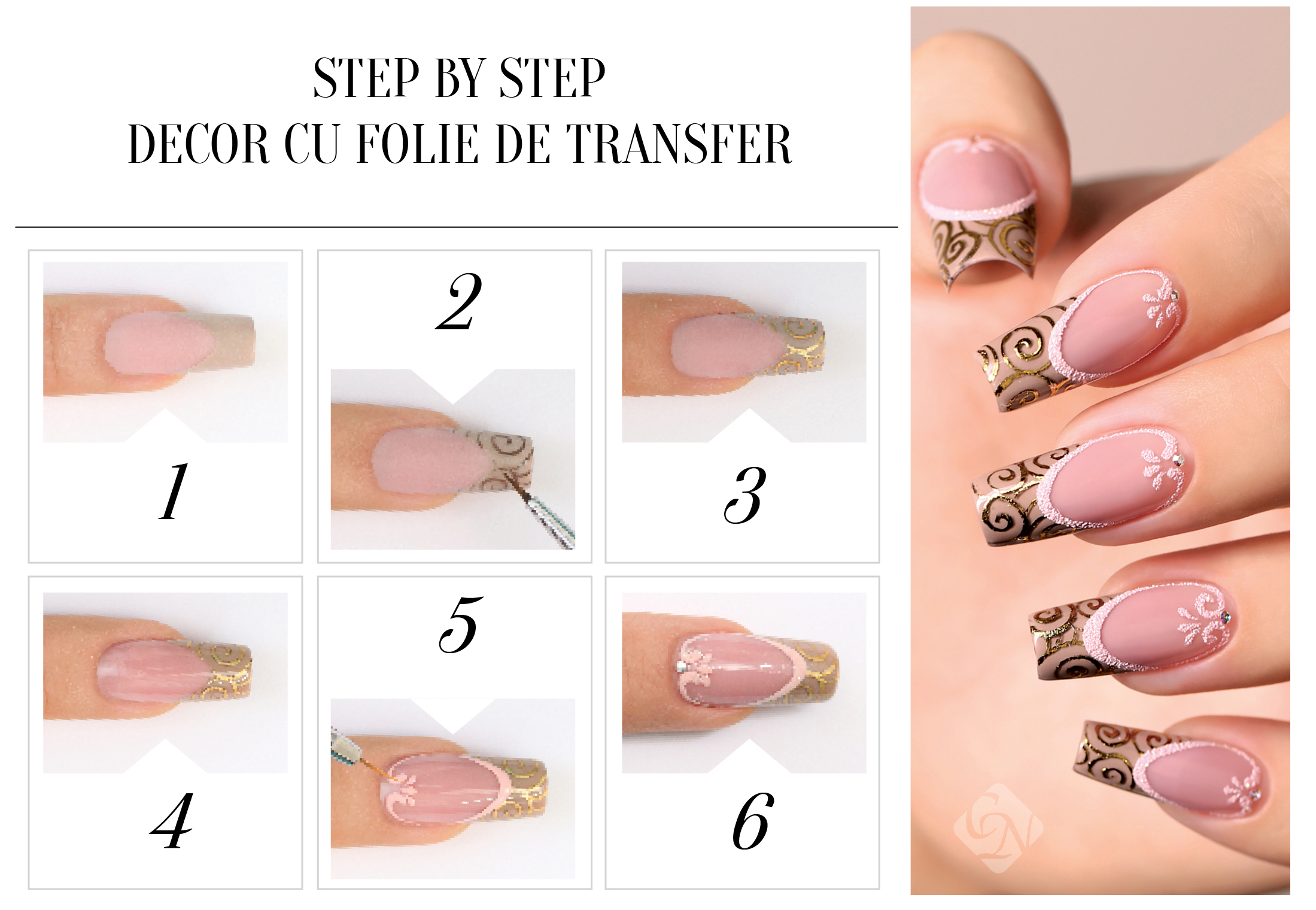 Step by Step Folii de transfer