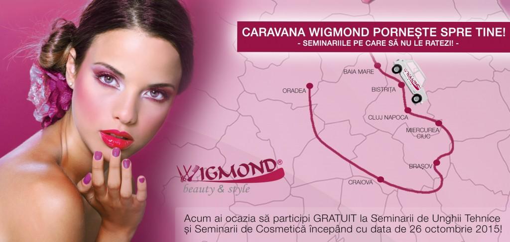 Caravana Wigmond porneste spre tine