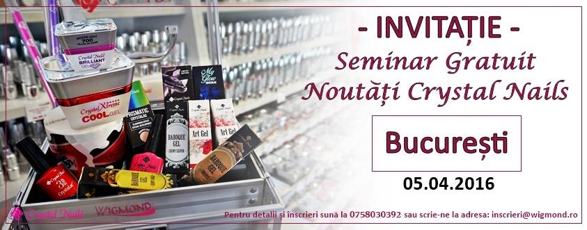 invitatie seminar Bucuresti