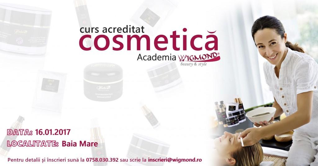 Academia Wigmond - Curs Cosmetica 2017