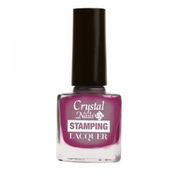 Crystal Nails - Lac pentru Stampila - Chrome Lilac (4ml)