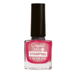 Crystal Nails - Lac pentru Stampila - Chrome Pink (4ml)