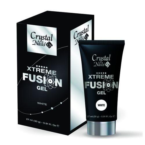 Crystal Nails - Xtreme Fusion Gel - White (27ml/30g)