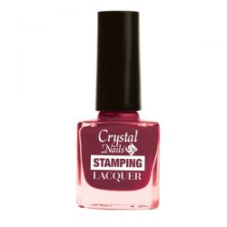Crystal Nails - Lac pentru Stampila - Bordo (4ml)