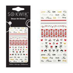SoKwik - Ornamente Unghii - Water Free Decals 190