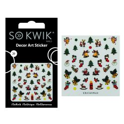 SoKwik - Ornamente Unghii - Nail Art Sticker - Christmas 216