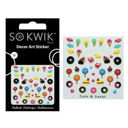 SoKwik - Ornamente Unghii - Nail Art Sticker - Cute 222