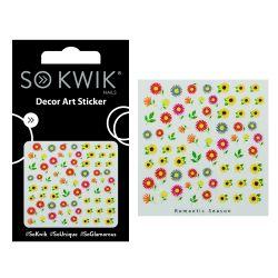 SoKwik - Ornamente Unghii - Nail Art Sticker - 3D 226