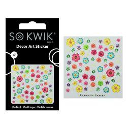 SoKwik - Ornamente Unghii - Nail Art Sticker - 3D 227