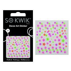 SoKwik - Ornamente Unghii - Nail Art Sticker - Neon 229