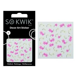 SoKwik - Ornamente Unghii - Nail Art Sticker - Flower 240