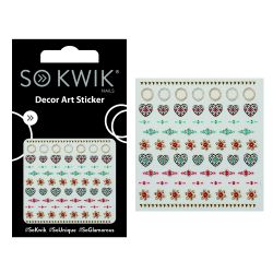 SoKwik - Ornamente Unghii - Nail Art Sticker - Jewel 257
