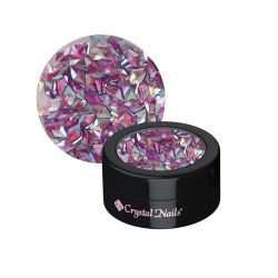 Crystal Nails - Nail Art Glitter 3D - Violet