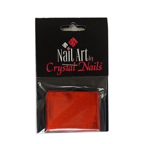 Crystal Nails - Suport intaritor aluminiu - Rosu (20buc)