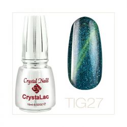 Crystal Nails - Tiger Eye CrystaLac - tig 27 (15ml)