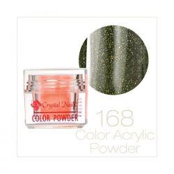 Crystal Nails - Praf acrylic colorat - 168 (7g)
