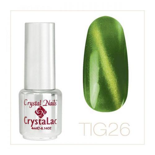 Crystal Nails - Tiger Eye CrystaLac - tig 26 (4ml)