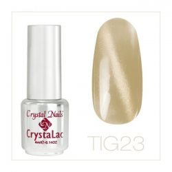 Crystal Nails - Tiger Eye CrystaLac - tig 23 (4ml)