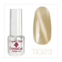 Crystal Nails - Tiger Eye CrystaLac - tig 23 (4ml)