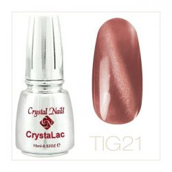 Crystal Nails - Tiger Eye CrystaLac - tig 21 (15ml)