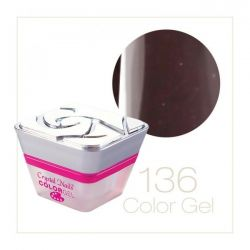 Crystal Nails - Color Gel - 136 (5ml)
