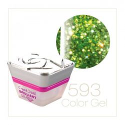Crystal Nails - Color Gel - Laser Brilliant - 593 (5ml)
