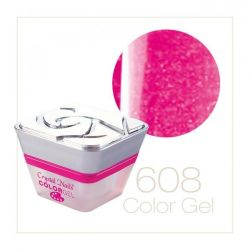 Crystal Nails - Color Gel - Sparkling Gel - 608 (5ml)