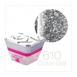 Crystal Nails - Color Gel - Sparkling Gel - 610 (5ml)