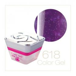 Crystal Nails - Color Gel - Sparkling Gel - 618 (5ml)