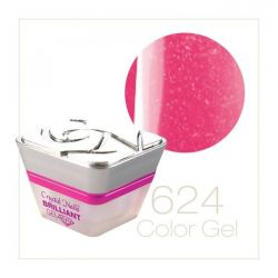 Crystal Nails - Color Gel - Sparkling Gel - 624 (5ml)