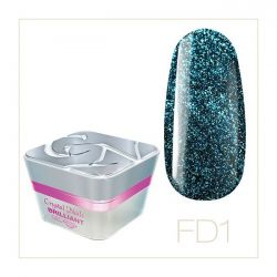 Crystal Nails - Color Gel Full Diamond - FD1 (5ml)