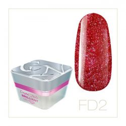 Crystal Nails - Color Gel Full Diamond - FD2 (5ml)